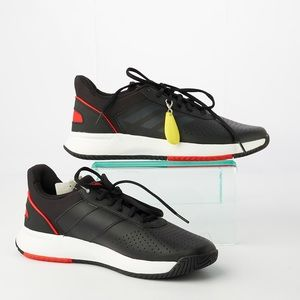 Adidas Ankle-High Fashion Courtsmash Sneakers